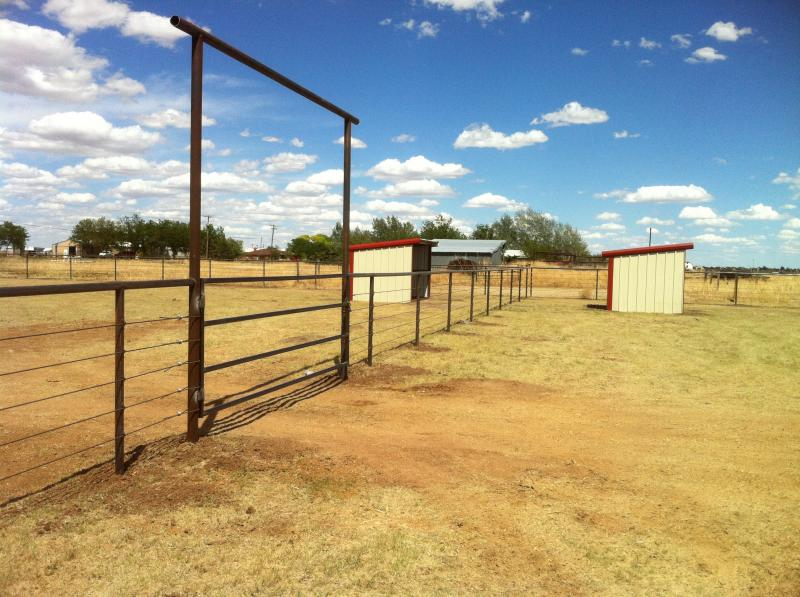Pipe Fence Amarillo