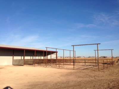 Custom Horse Barn and Pens Amarillo, TX